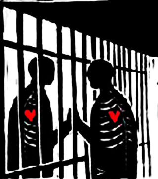 Love-through-prison-bars